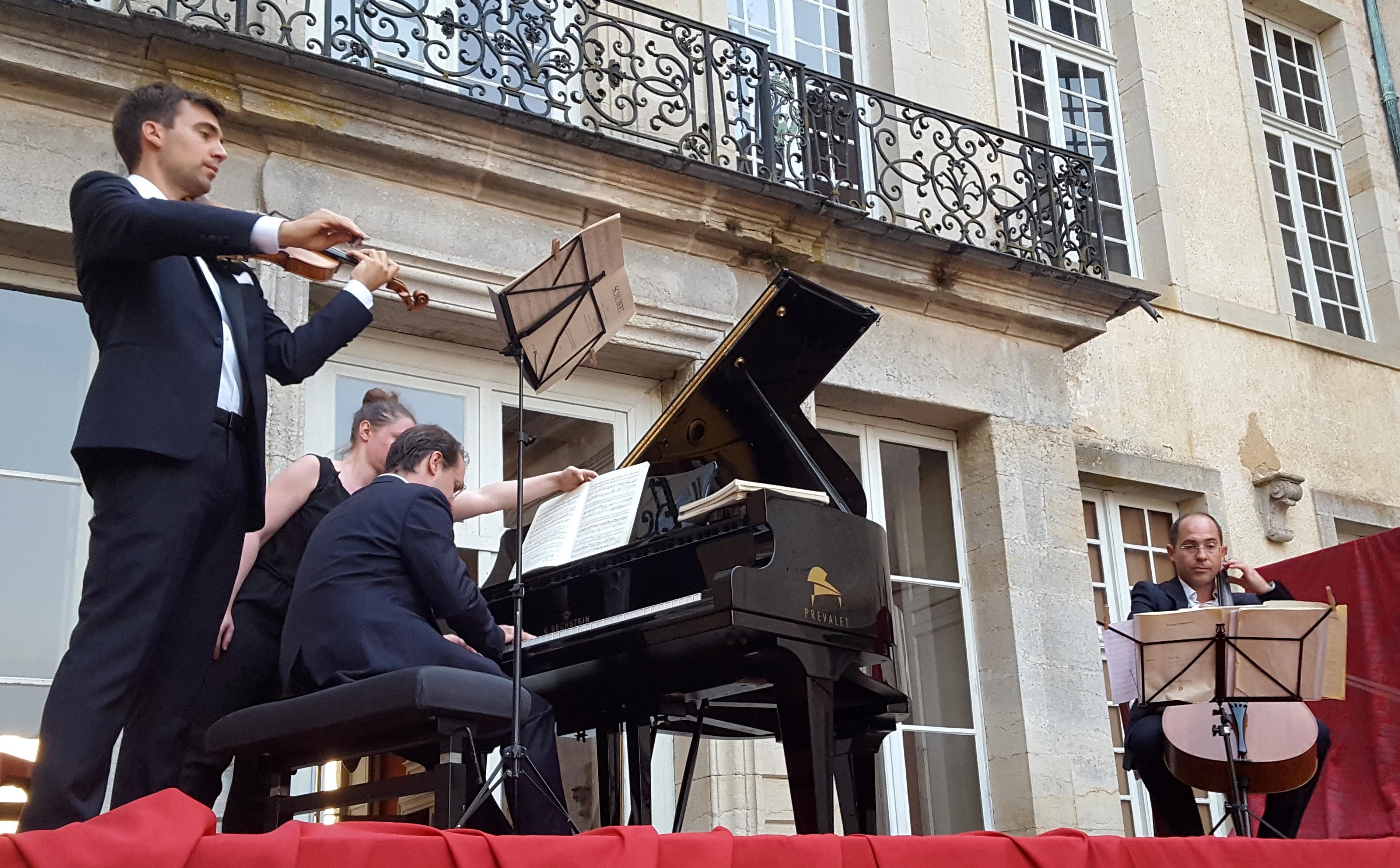 Le concert du Trio Chausson