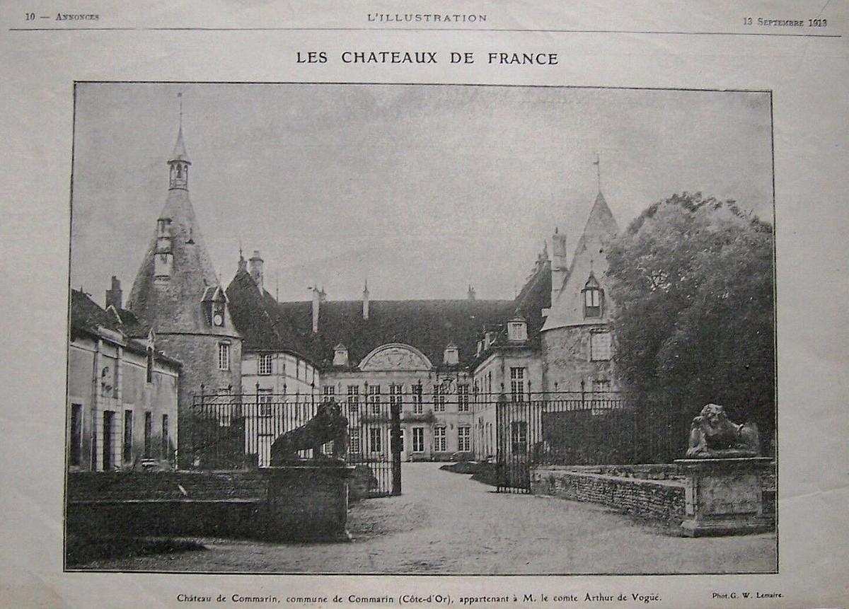 Commarin, le château (Côte d'Or - 21320)
