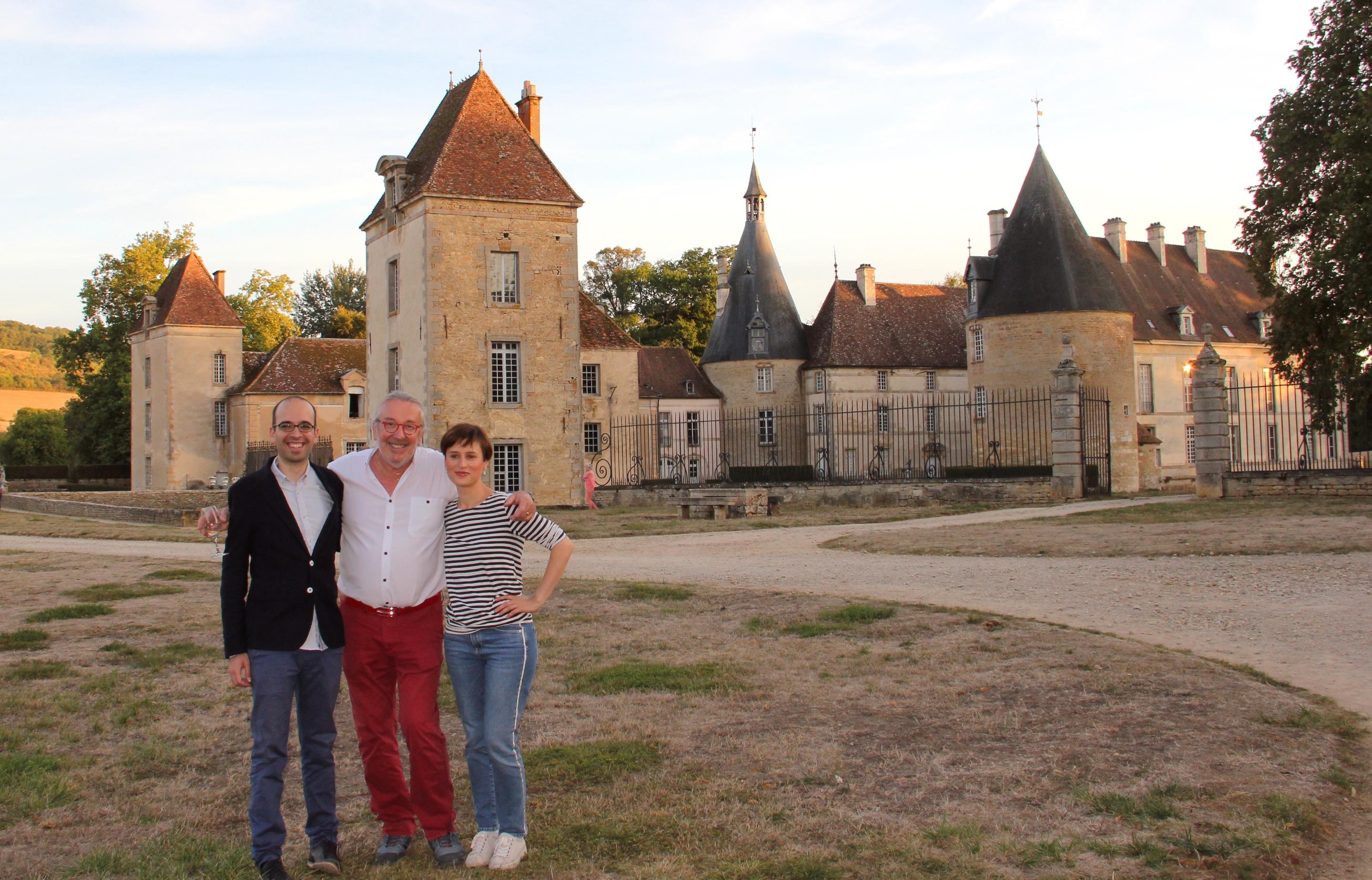 Domingos Costa, Claude Finot, et Yseult Jost