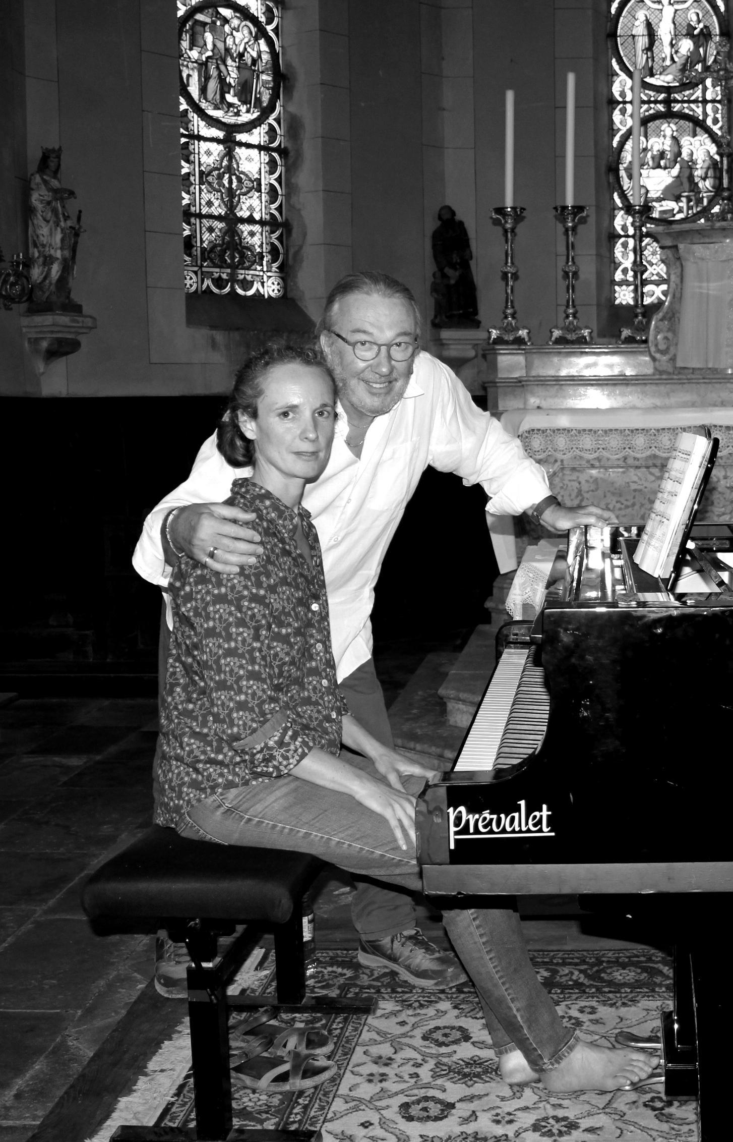 Juliette Mazerand et Claude Finot