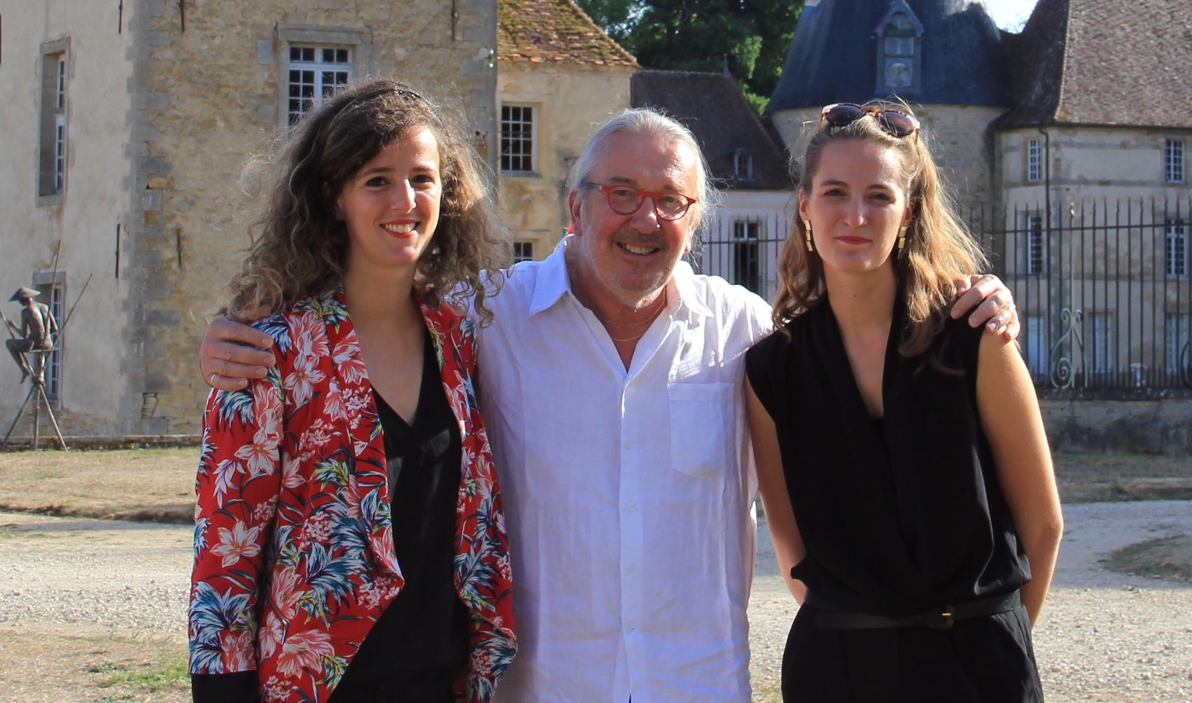 Agnès Graziano, Claude Finot, Marie Graziano