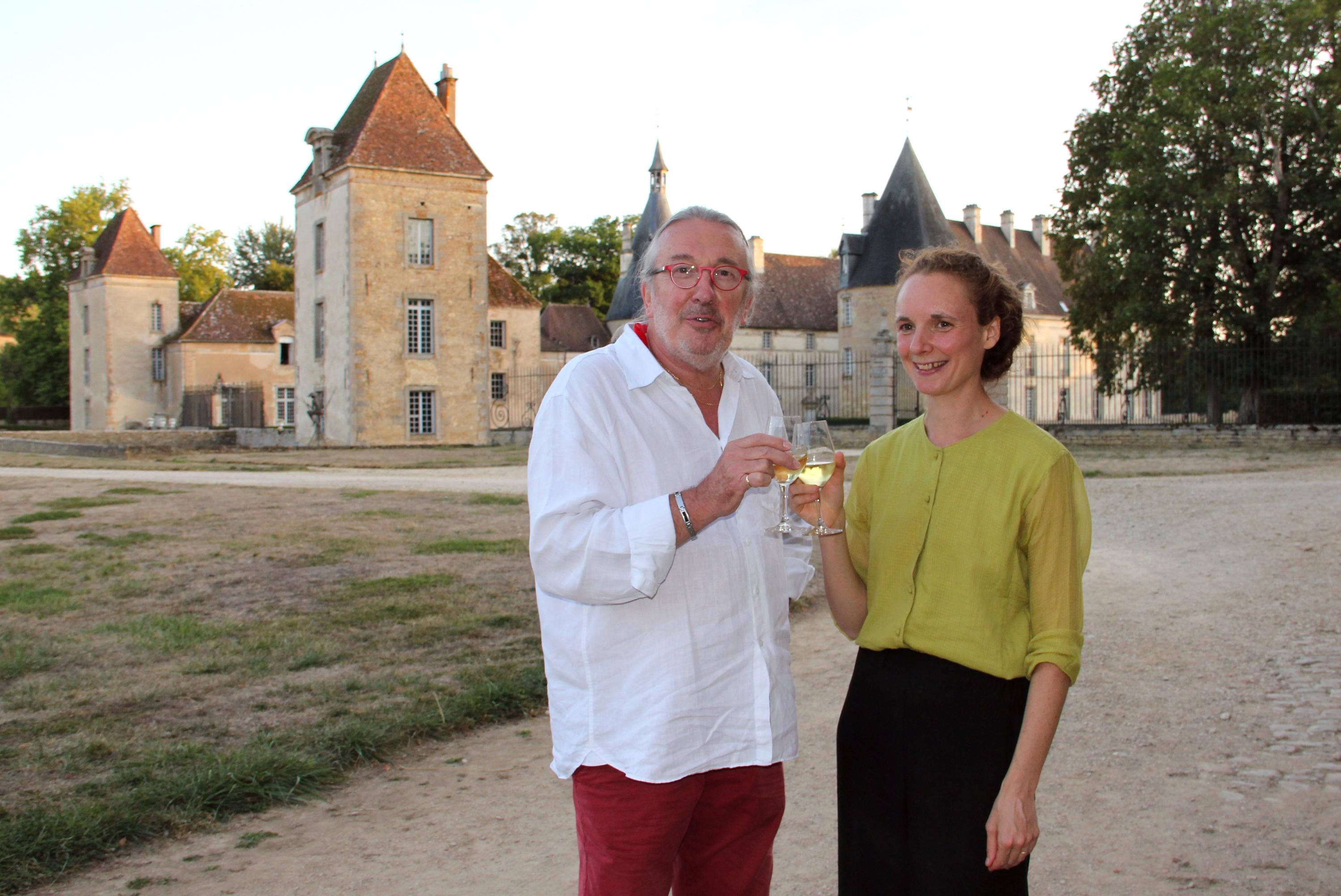 Claude Finot et Juliette Mazerand