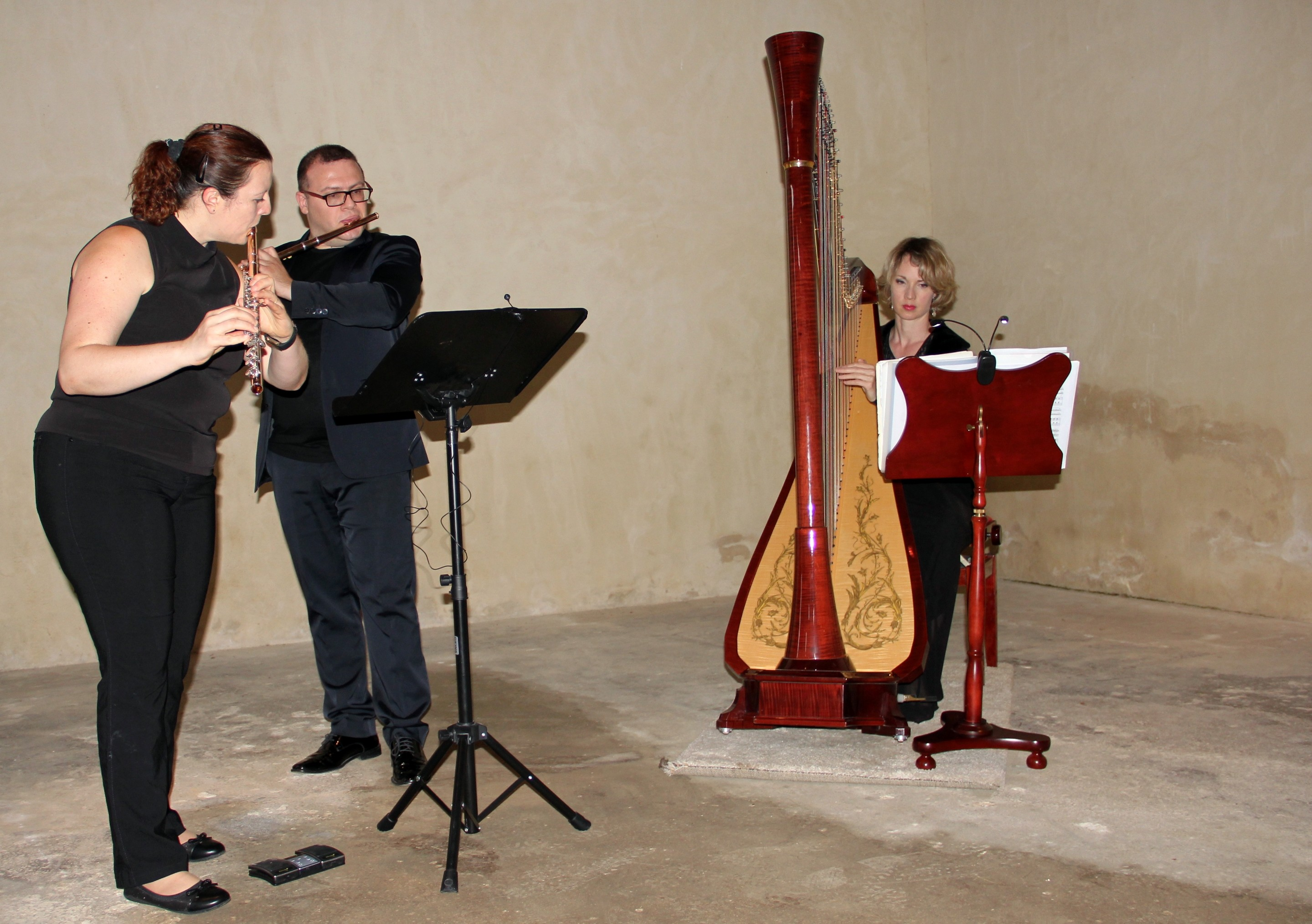 Sandrine Olivier, Raffaele Bifulco, Dorothée Cornec