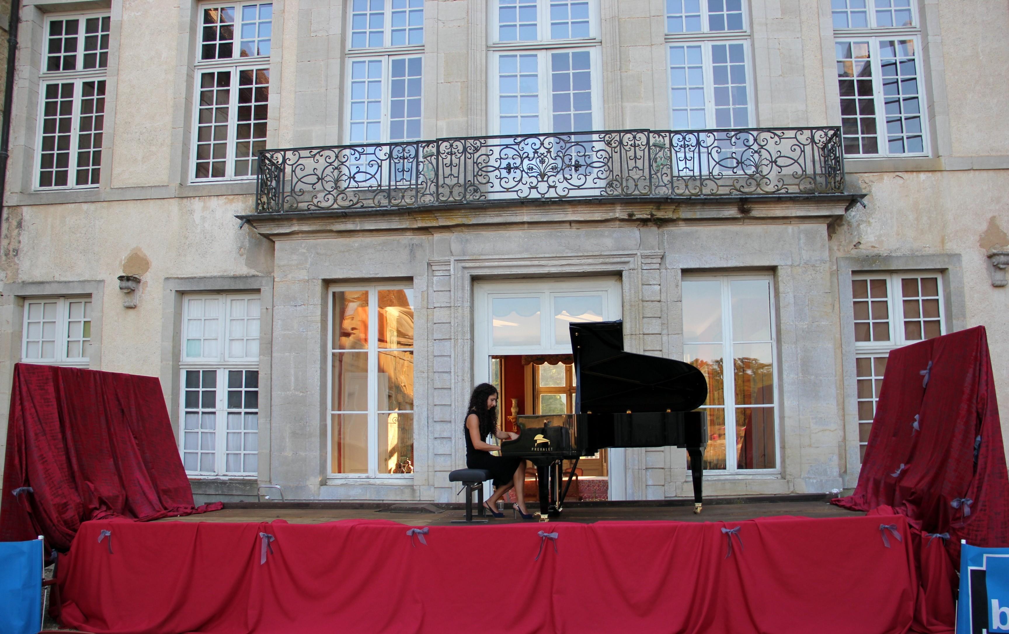 Ida Pelliccioli en répétition