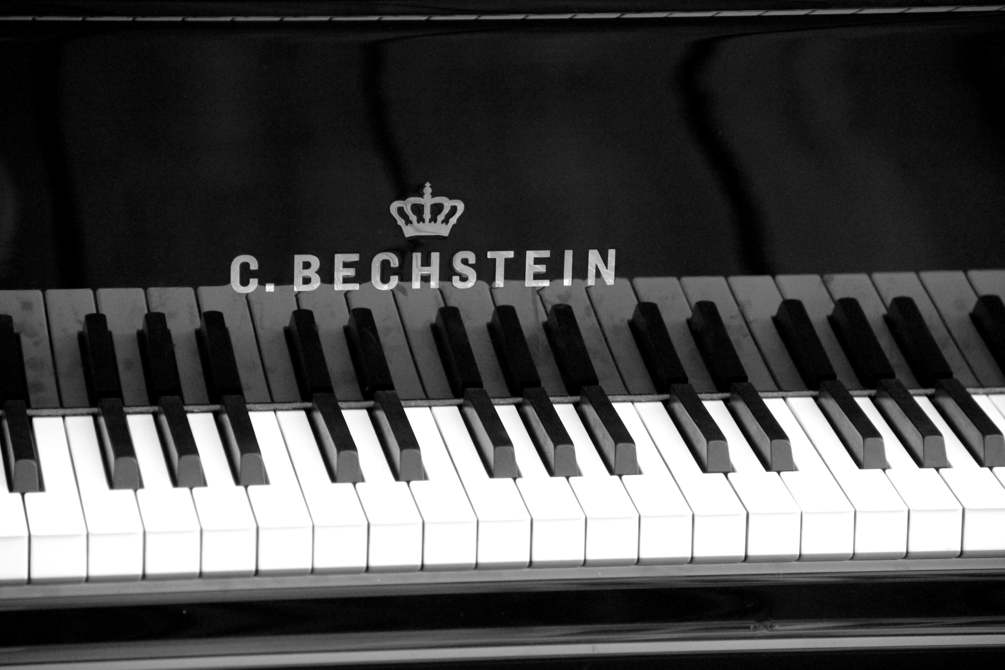Le clavier du Bechstein