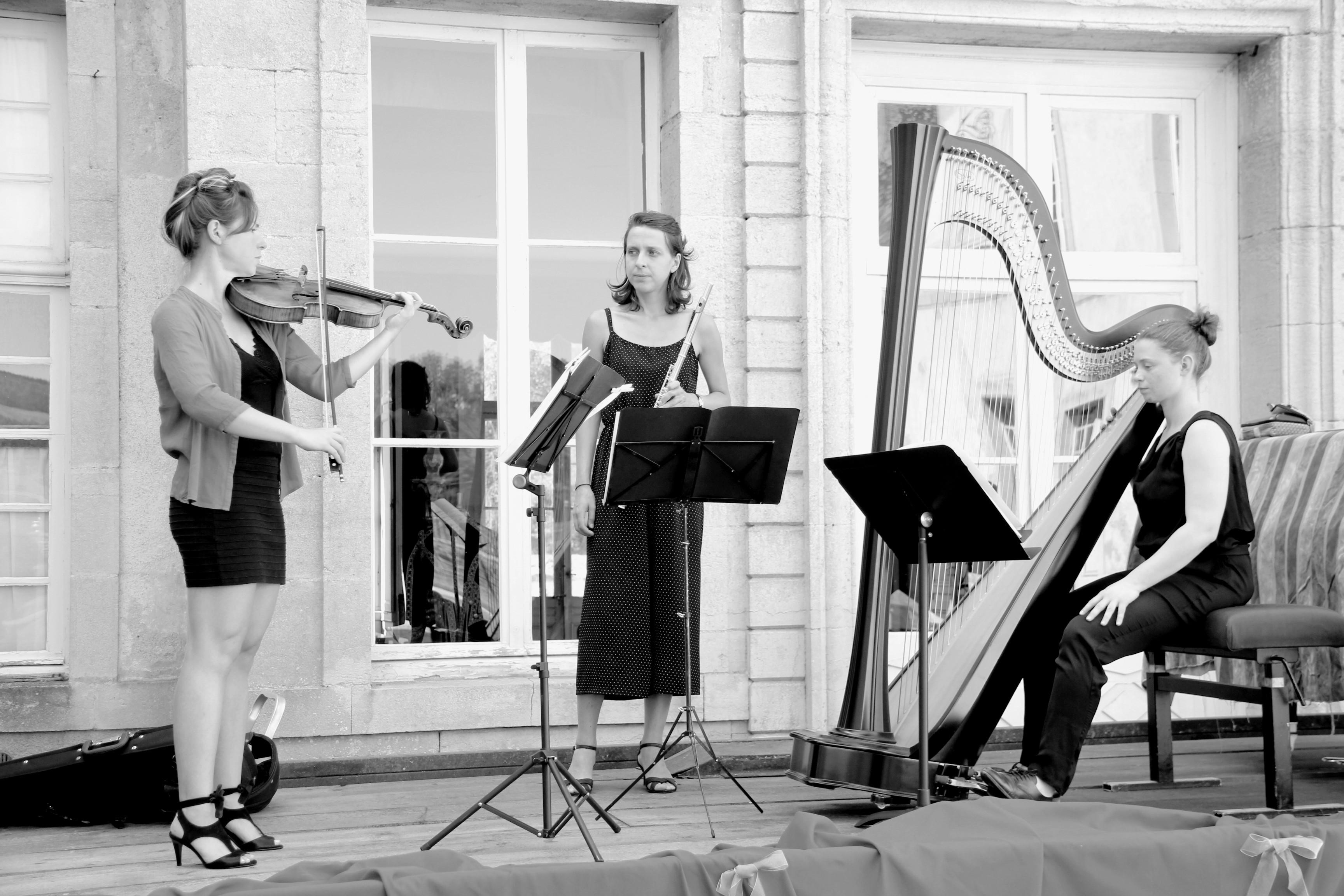 Le Trio Zerline en répétition
