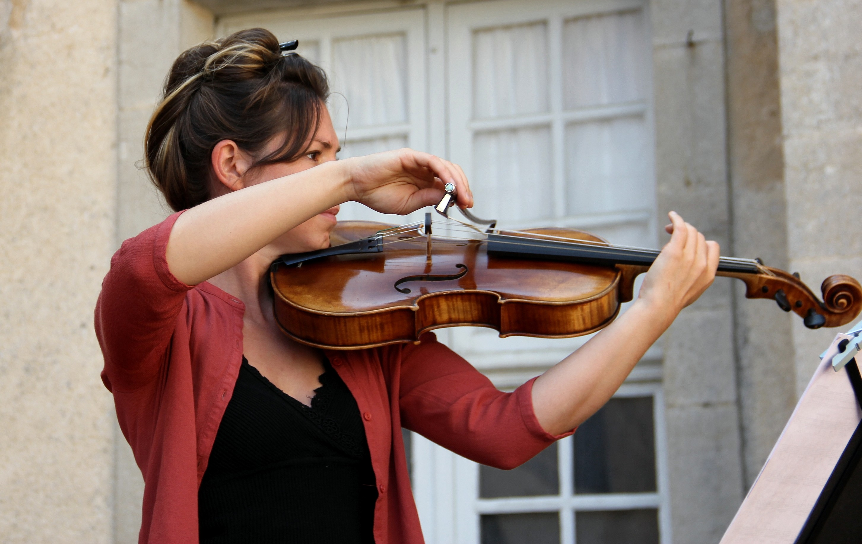 Estelle Gourinchas, alto du Trio Zerline