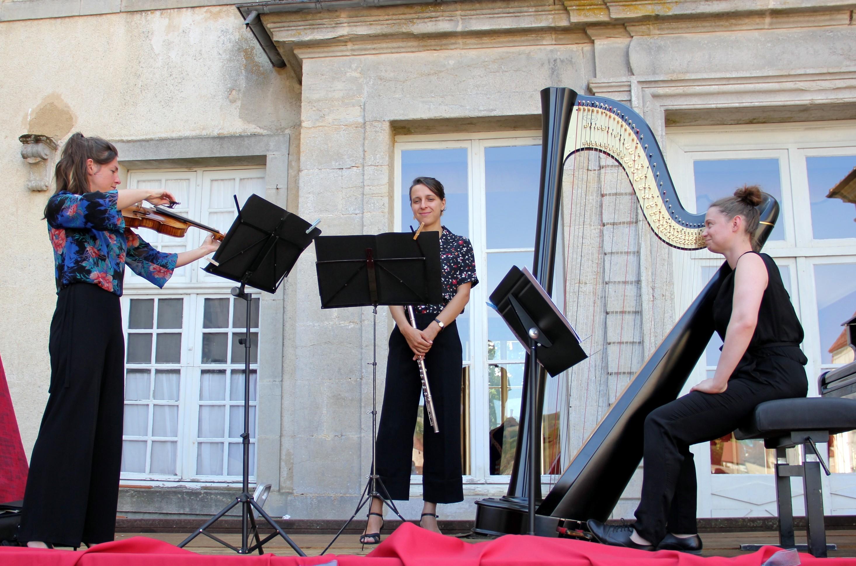 Le Trio Zerline en concert