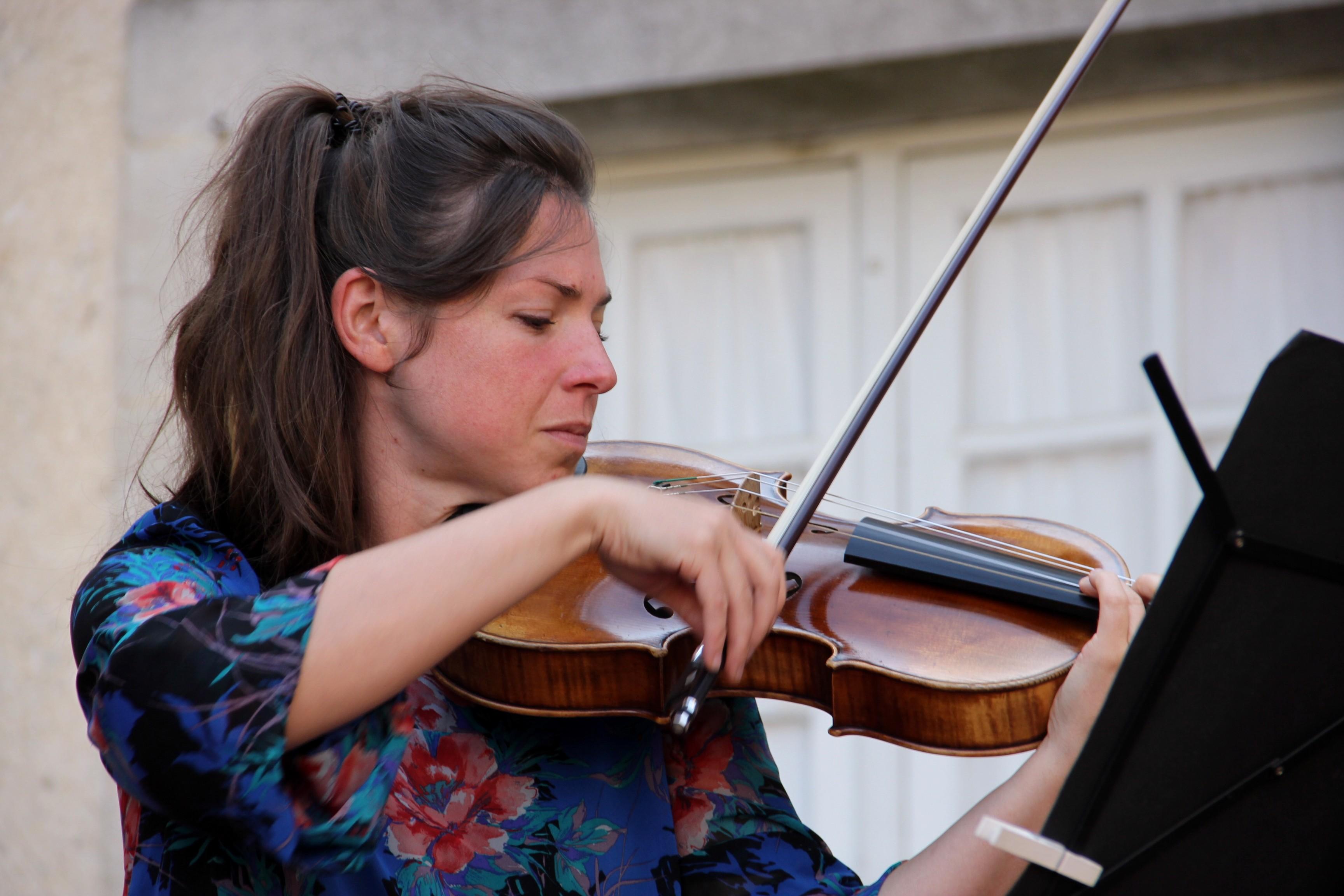 Estelle Gourinchas, alto, en concert