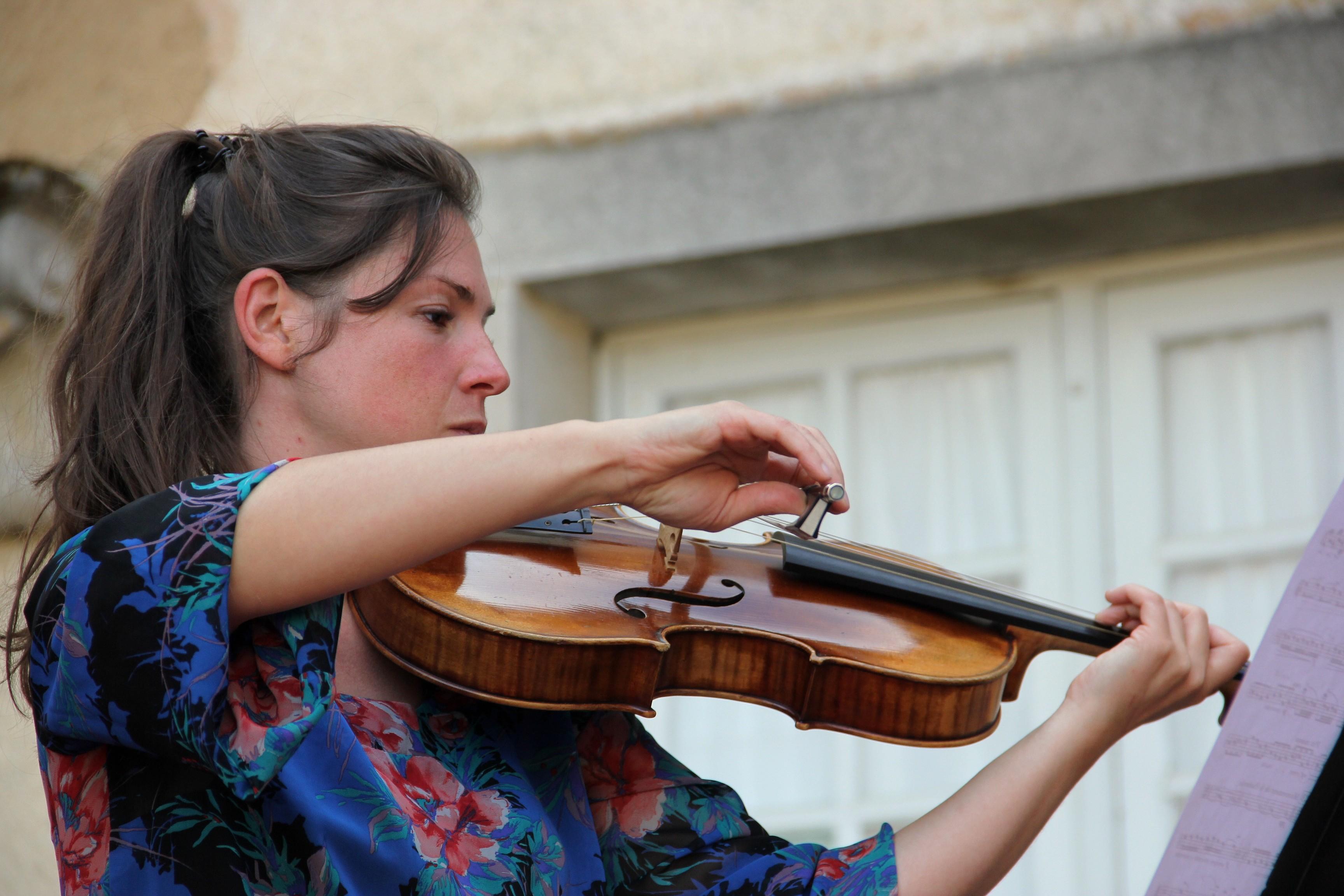 Estelle Gourinchas, du Trio Zerline