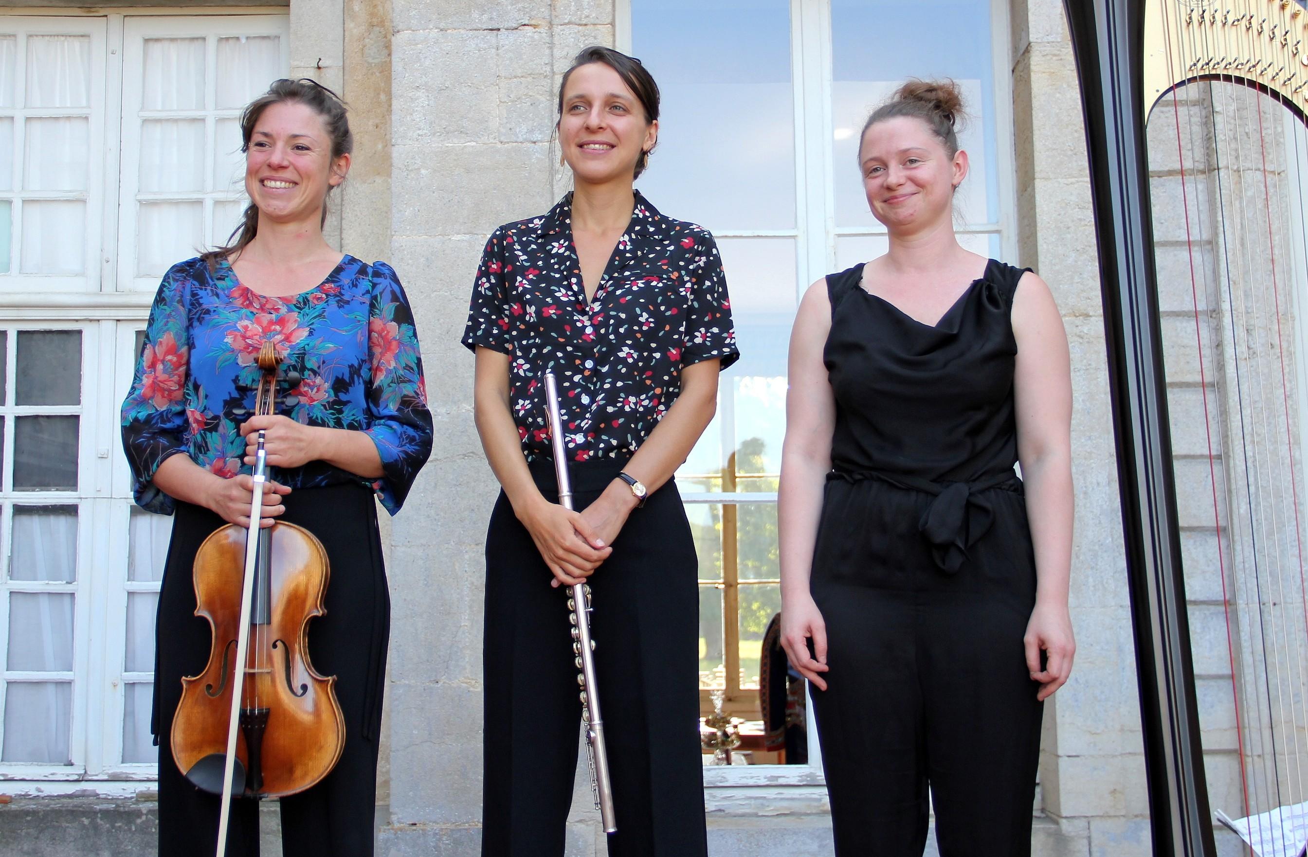 Le salut du Trio Zerline