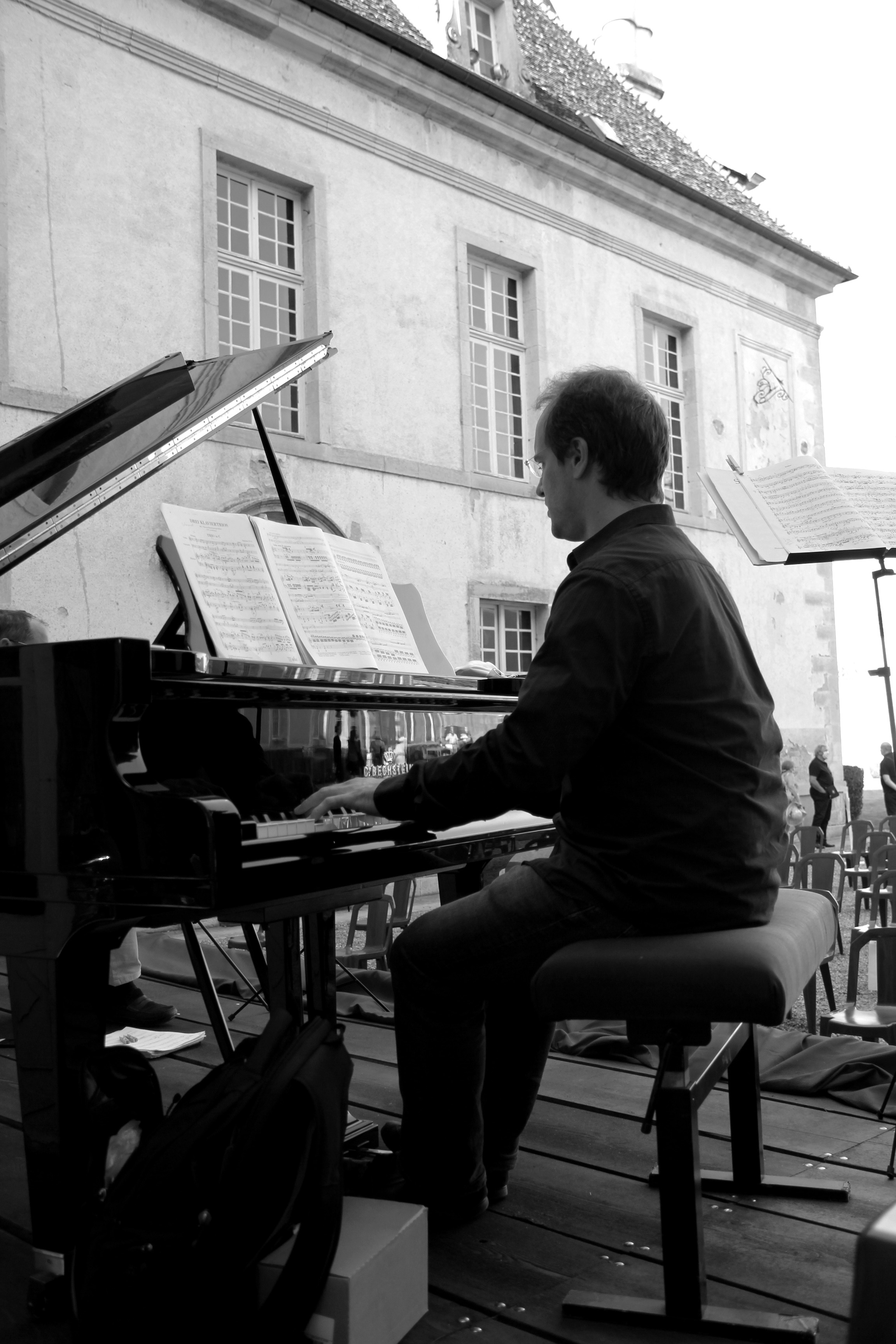 Boris de Larochelambert, du Trio Chausson