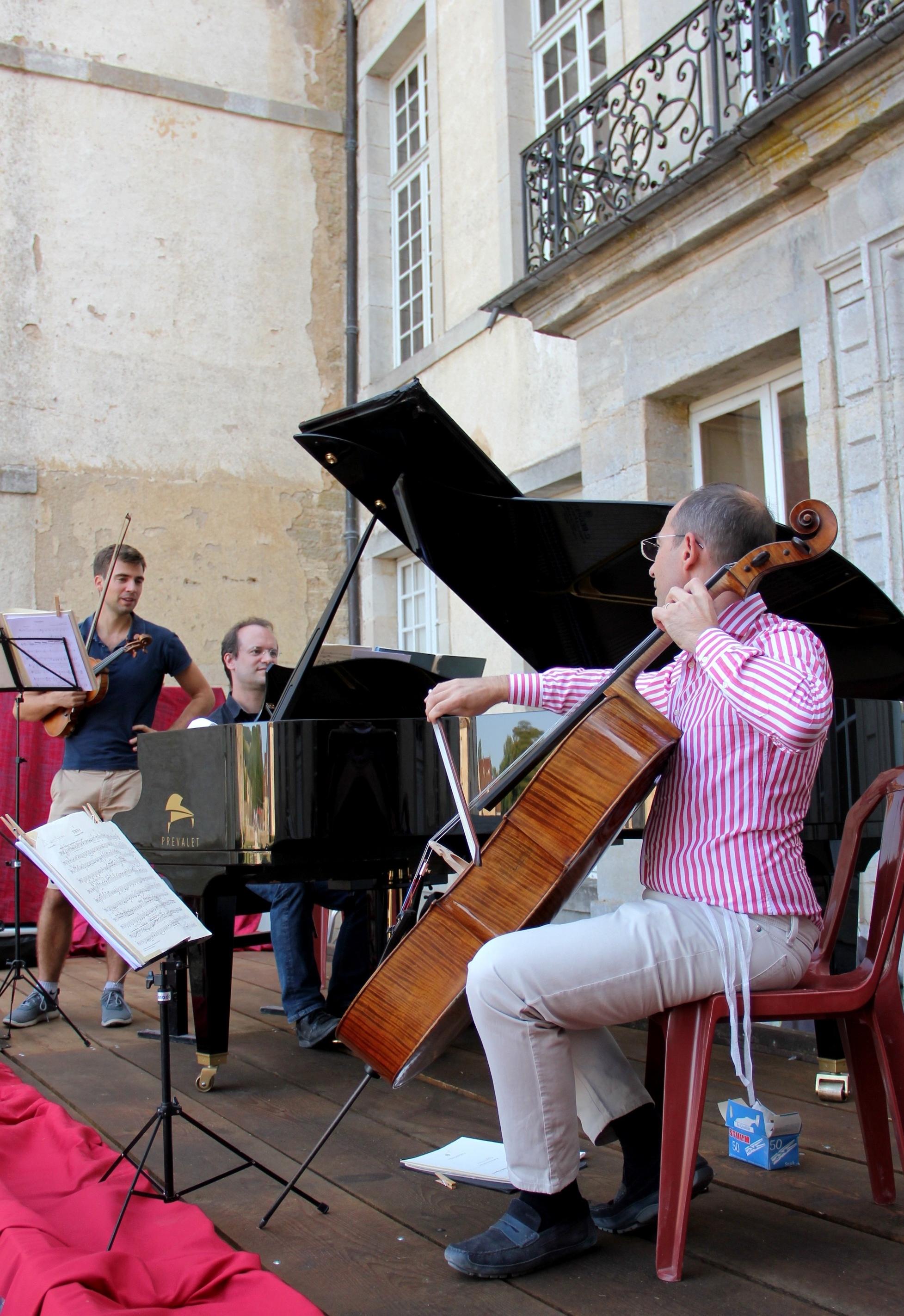 Le Trio Chausson en répétition