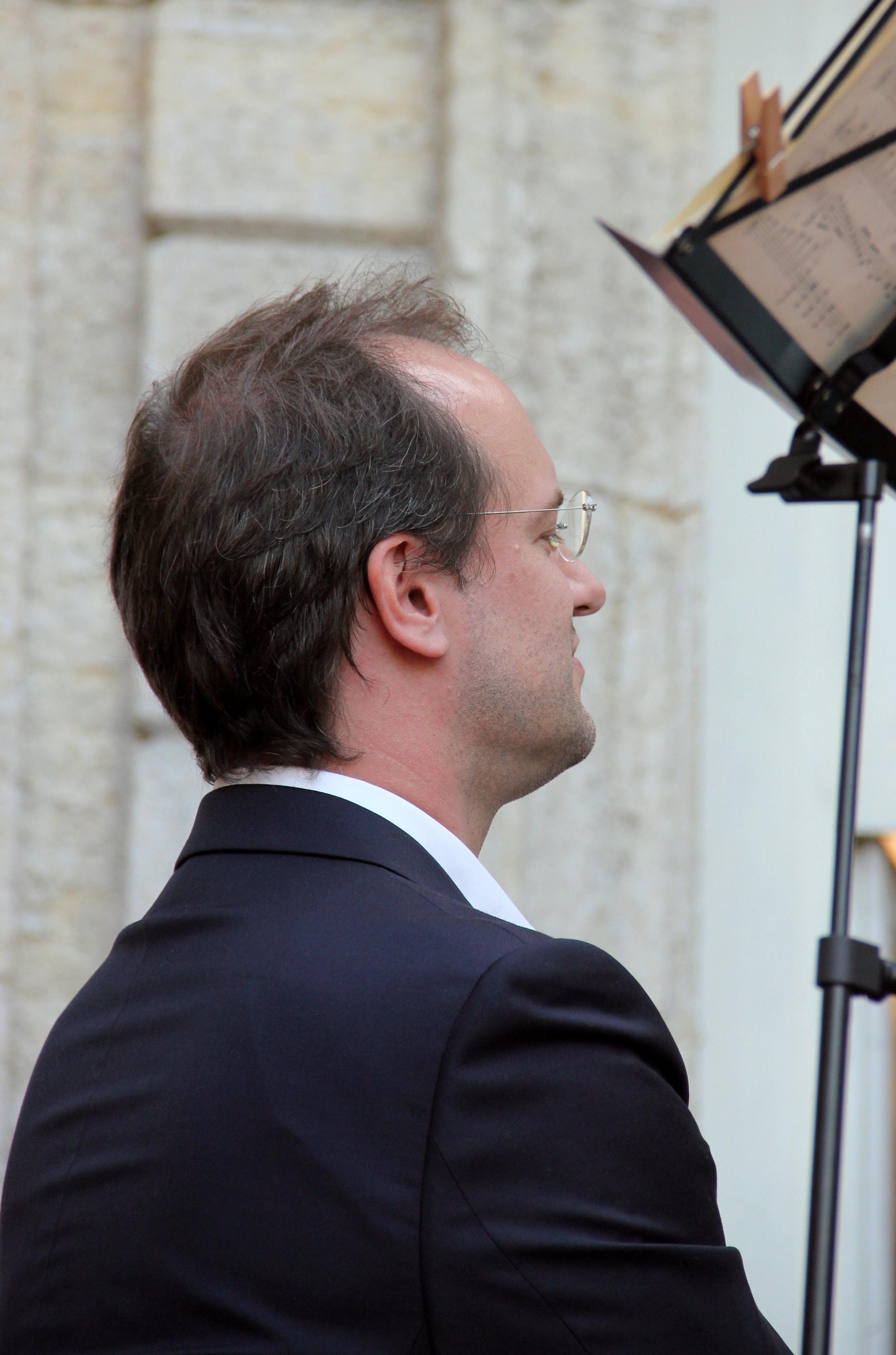 Boris de Larochelambert, pianiste du Trio Chausson