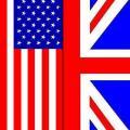 Drapeaux anglais et americains