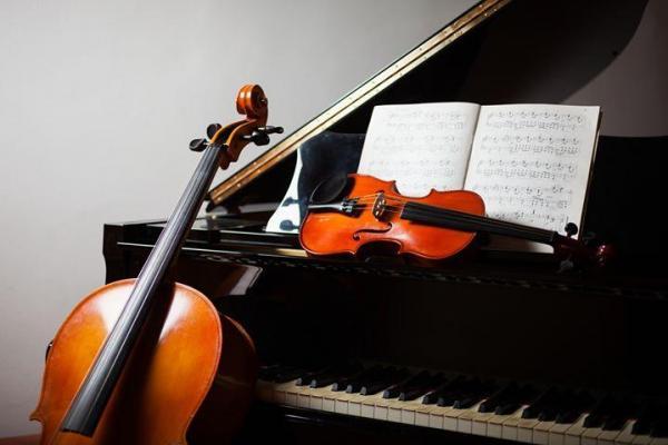 Image violon violoncelle piano 1