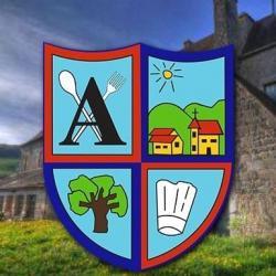 Logo alves traiteur domaine le pre du chene