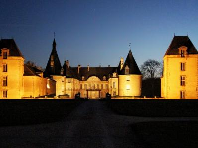 Photo chateau nocturne 02