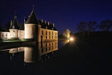 Photo chateau nocturne 03